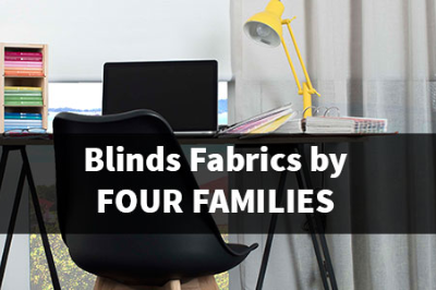 Blinds Fabrics by Four Families